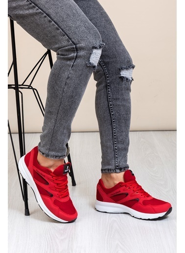 Tonny Black Kırmızı 2 Unisex Spor Ayakkabı 772-0 Kırmızı